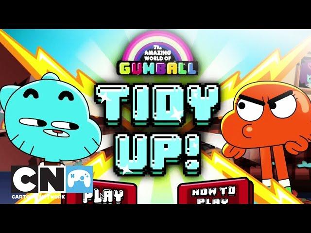 De Wonderlijke Wereld van Gumball | Tidy Up! (Gameplay) | Cartoon Network