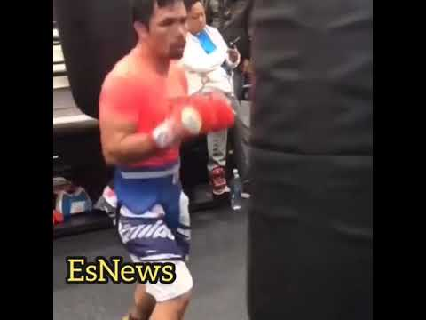 Manny Pacquiao and best shape ever ever