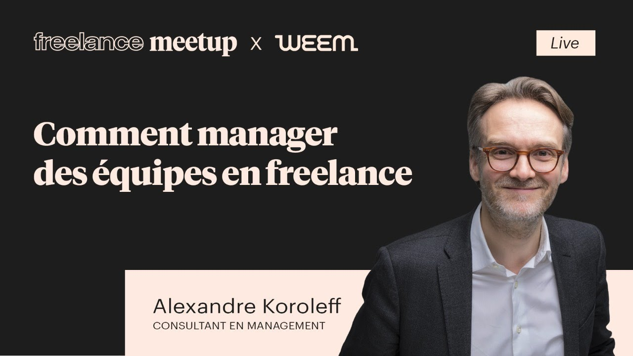 #FMLive avec Alexandre Koroleff - Manager des équipes en freelance