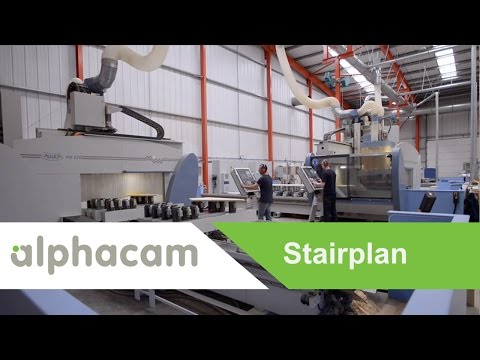 StairPlan make whatever they want on CNC with Alphacam | Success Story