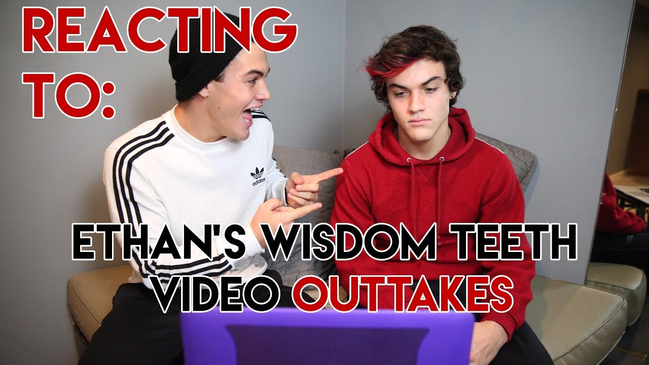 reacting-to-ethan-gets-his-wisdom-teeth-removed