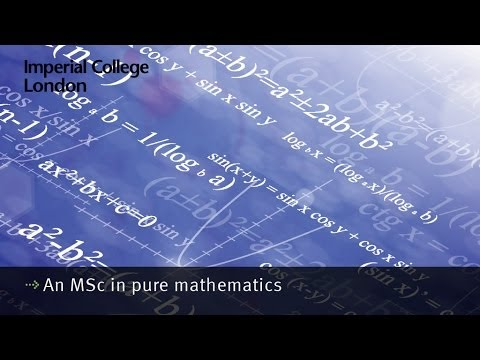 An MSc in pure mathematics