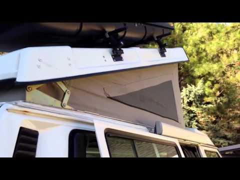 1987 VW Syncro Vanagon Westfalia Camper with Poptop open