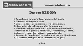 Abdon Gaz | Zoom-Biz.ro