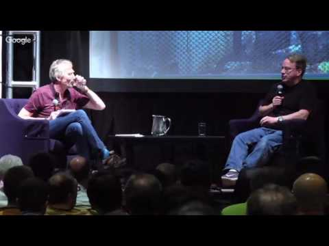 Fireside Chat with Linus Torvalds & David Rusling at Linaro Connect (LAS16-500K3)