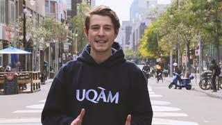 Florent présente l'UQAM en 90 secondes!