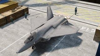 GTA 4 FA-38 Jet (Black Ops II)