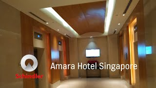 Schindler lifts at Amara Hotel…