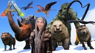 ARK: SURVIVAL EVOLVED - TAMING EVERYTHING!!