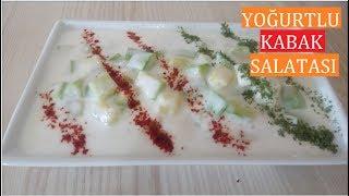 Yoğurtlu Kabak Salatası-Meze tarifleri