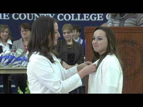 Brookdale Community College Nursing Pinning Ceremony