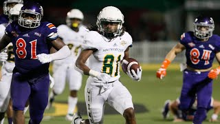 #81 Austin Mitchell--5'9, 175--WR PR--Southeastern Louisiana, 2018 Highlights