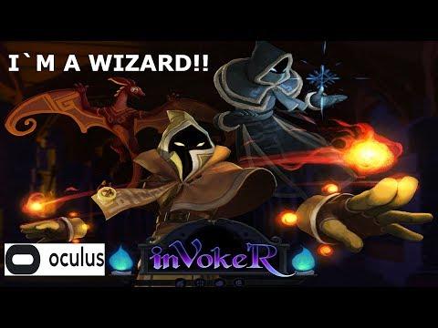 inVokeR VR Oculus | Virtual Reality Wizard spell fighting | Oculus Rift also for HTC Vive