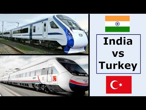 Indian Railways vs Turkish Railways Detailed Comparison