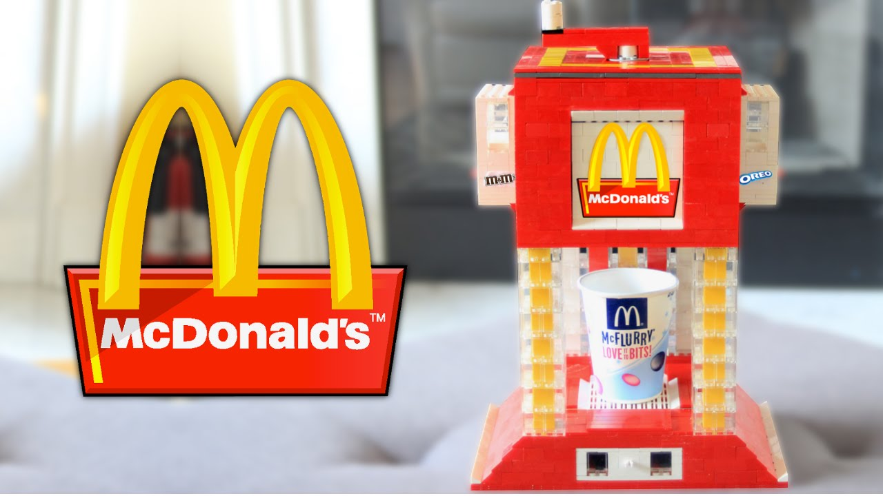 mcdonalds machine