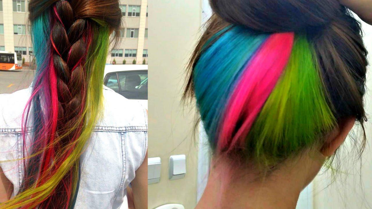 Renkli Saç Kullanımı Yapım Aşaması Yıkaması Neden Ense Simsim