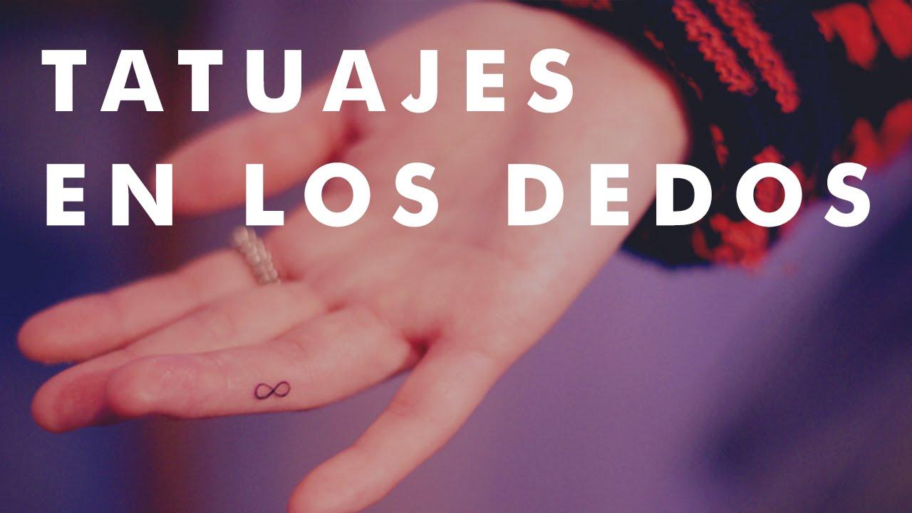 20 Pequeños Tatuajes En Los Dedos Youtube
