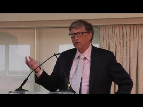 Invest in Nutrition Event - Bill Gates, Co-Chair, Bill & Melinda Gates Foundation
