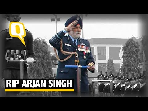 RIP Arjan Singh, The Quint Bids Farewell To Marshal of Indian Air Force