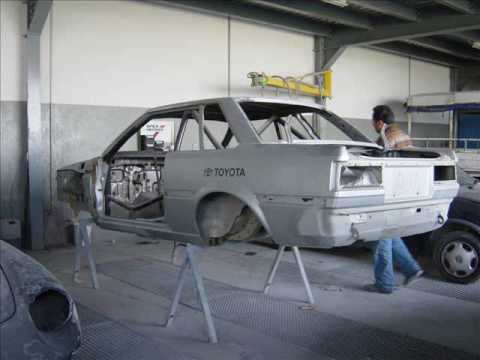 Toyota Corolla AE70 Restoration: The Japanese way!!