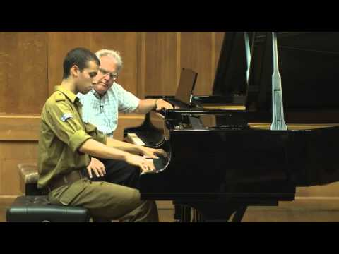 Masterclass with Joseph Kalichstein (Ido Akov, piano)