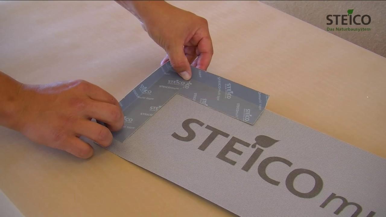 STEICOfix Abdichtungssystem für Fenster im Holzrahmenbau