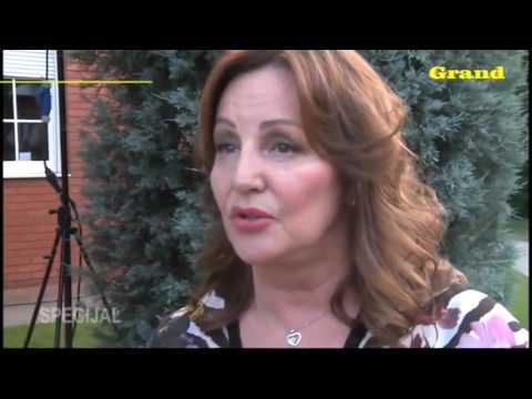 Lepa Brena - Potpisivanje Ugovora Sa TV Prva (Grand News, TV Grand 16.06.2014.)
