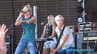 r5 performing Cruisin' for a Bruisin' & Here Comes Forever