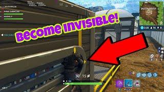 Fortnite Battle Royale Glitch (Saison 4) Devenir invisible PS4/Xbox one 2018