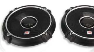 JBL GTO628 6.5-Inch - 6.75-Inch 180W 2 Way Coaxial Speakers (Pair)