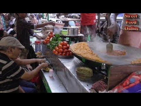 Masala PAV BHAJI | Kolkata Street Food | Indian Vegetarian Street Food 2017