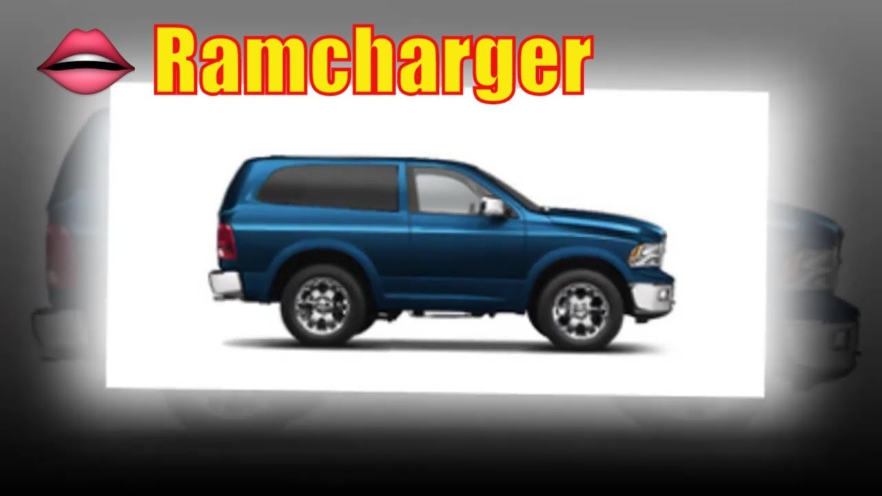 2020 Ramcharger Configurations