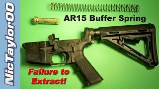 AR15 Failure to Extract (Have you replaced your Buffer Spring?)