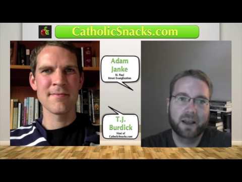 Catholic Snacks Interview with Adam Janke from Saint Paul Street Evangilization