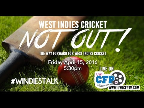 Not Out! - The Way Forward for West Indies Cricket