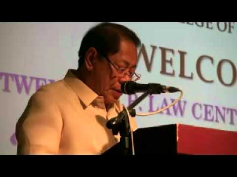 Examining the Role of U.P. Law - February 3, 2012