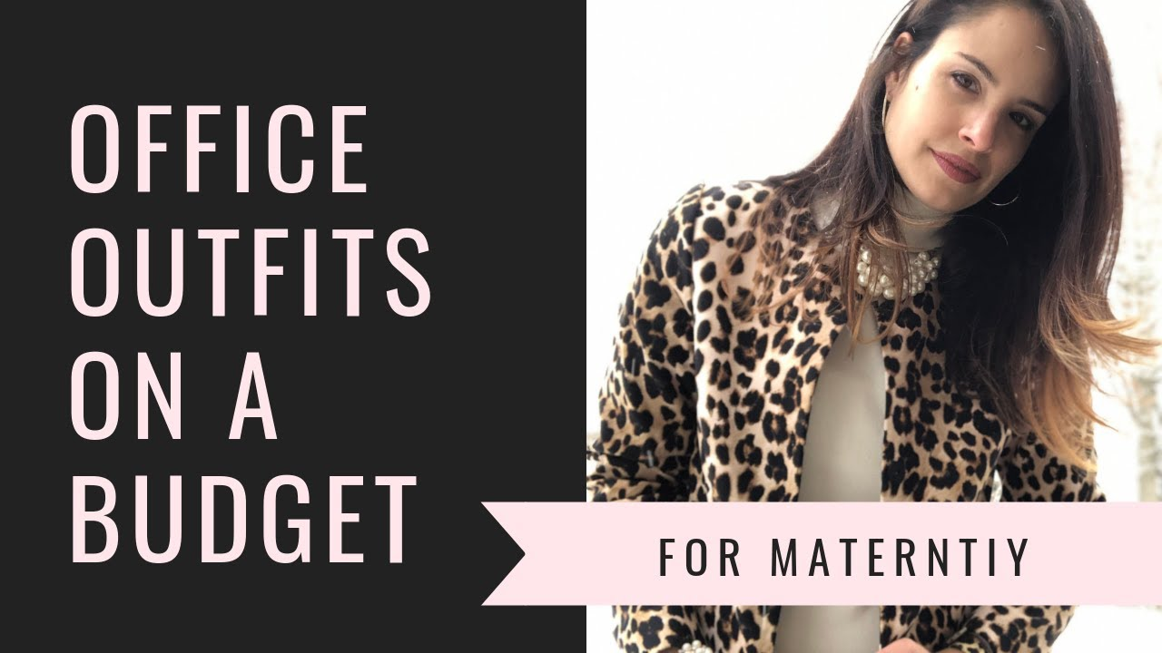 7 Office Maternity Outfits Ideas On a Budget