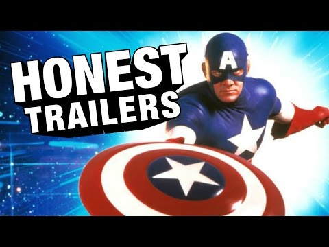 Honest Trailers - Captain America (1990)