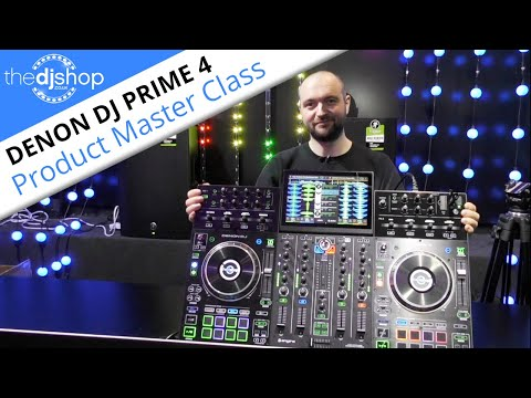 Denon DJ 'Prime 4' - Overview (The World's First 4 Channel Standalone DJ System)
