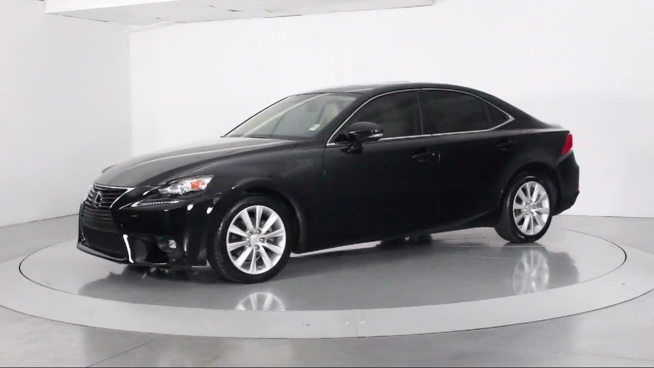 2015 Lexus Is Sedan 250 For Sale In Miami Fort Lauderdale Hollywood West  Palm Beach   Florida Fin
