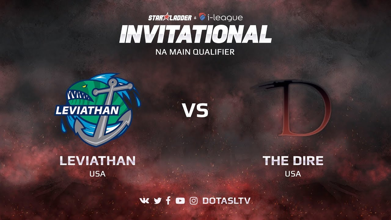 Leviathan против The Dire, Первая карта, NA квалификация SL i-League Invitational S3