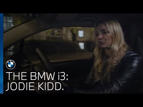 The BMW i3 and Jodie Kidd take on London.