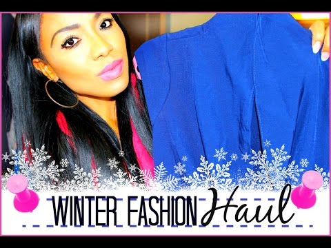 How To Shop Online | Winter 2015 Fashion Haul