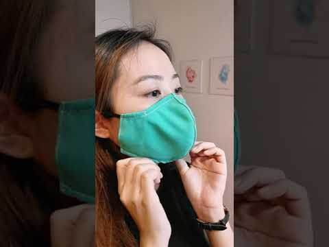 CB2 Reusable Face Mask (Made in Singapore)