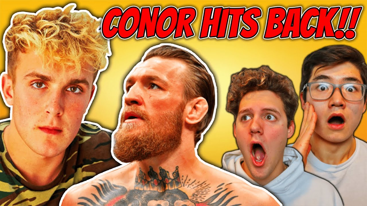 """Jake Paul CLOUT CHASES, Conor McGregor RESPONDS?!(""""He's CHICKEN"""")"""