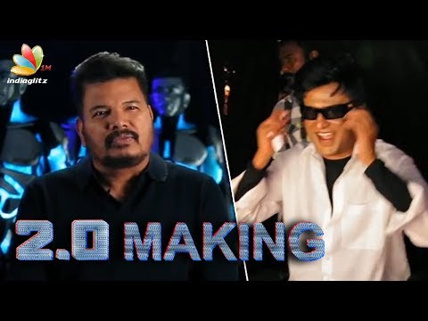 2.0 Movie Making In 3D | Director Shankar and Rajini speech | 3D featurette
