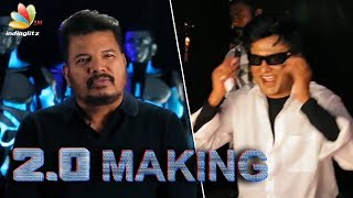 2.0 Movie Making In 3D | Director Shankar and Rajini about 3D featurette
