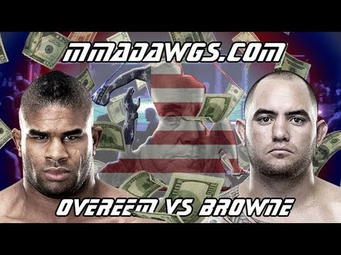 UFC Fight Night 26 Breakdown : Alistair Overeem Vs Travis Browne - Fight Analysis & Betting Strategy
