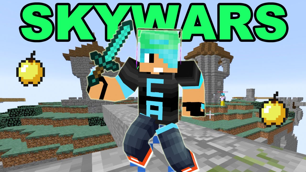 Minecraft Let S Play Skywars Minigame Gamer Chad Youtube