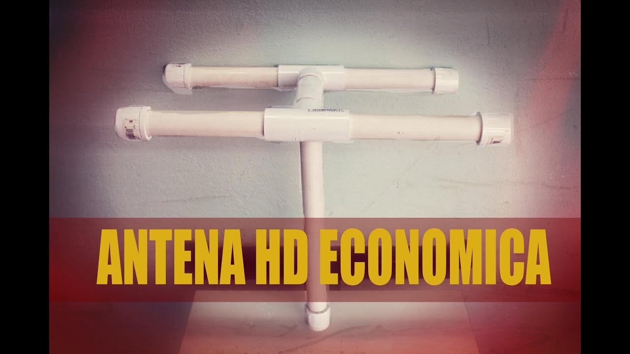 Tutorial c mo hacer antena para hdtv canales digitales for Antenas de tv interiores